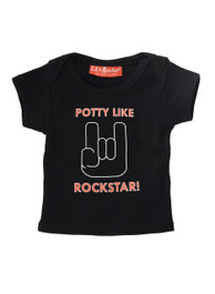 Potty Like A Rockstar Baby T-Shirt