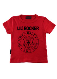 Red Lil Rocker Kids T-Shirt