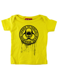 Yellow Zombie Response Team Baby T Shirt