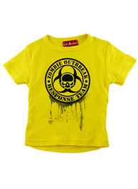 Yellow Zombie Response Kids T-Shirt