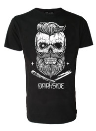 Bearded Skull Mens T Shirt