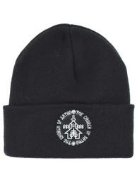Church Of Satan Embroidered Beanie Hat