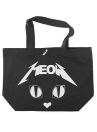 Metal Meow Tote Bag