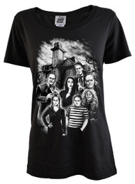 Adams Family Womens T Shirt