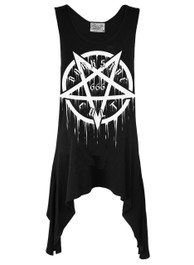 Pentagram Cult 666 Racerback Dress