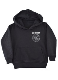Lil Rocker Black Kids Pullover Hood