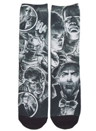 Monster Mash Up Socks