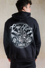 Cafe Racer Fleece Pullover Hood