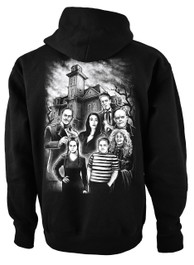 Adams Family Fleece Pullover Hood