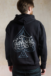 Ace Of Spades Fleece Pullover Hood