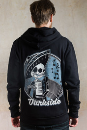 Mariachi Fleece Zip Hood