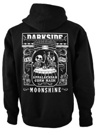 Corn Mash Moonshine Fleece Zip Hood