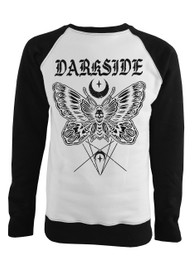 Death Moth Black and White Sweatshirt