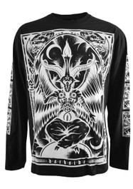 Inverted Baphomet Mens Long Sleeve T Shirt