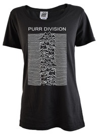 Purr Division Womens Scoop Neck T Shirt