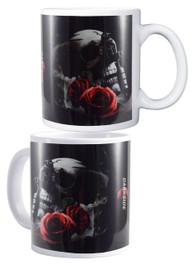 Tattoo Gun Skull and Rose Mug