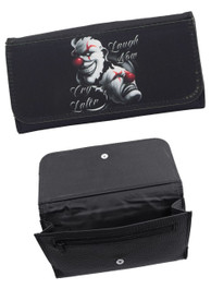Laugh Now Cry Later Clowns Womens Purse