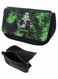 Frank Tattoo Zip Up Pencil Case/Make Up Bag