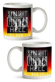 Straight Outta Hell Mug
