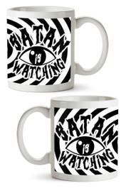 Satan Is Watching Mug