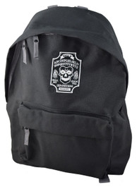 Ghoul Ouija Board Embroidered Backpack