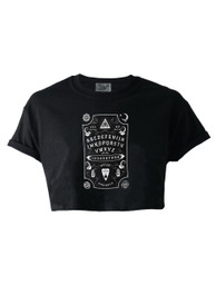 Ouija Board Crop Top