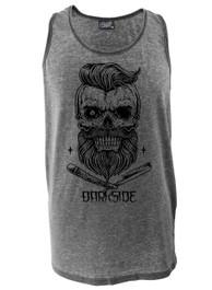 Bearded Skull Vest Burnout