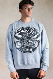 Cafe Racer Grey Sweatshirt