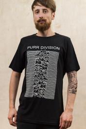 Purr Division Mens T Shirt