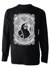 Smoking Reaper Mens Long Sleeve T Shirt