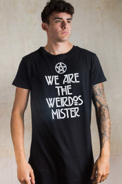 We Are The Weirdos Mister Longline T Shirt