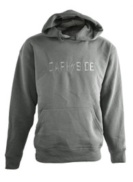 Darkside Flash Embroidered Pullover Hood Grey
