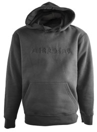 Darkside Gothic Embroidered Pullover Hood Black