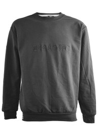 Darkside Gothic Embroidered Sweatshirt Black