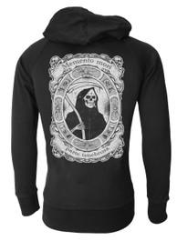 Smoking Reaper Cotton Zip Hood