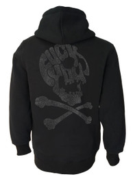 F ck You Skull Fleece Zip Hood