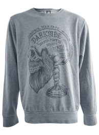 Memento Bearded Skull Grey Sweatshirt