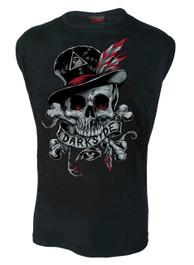 Voodoo Skull Mens Sleeveless Vest
