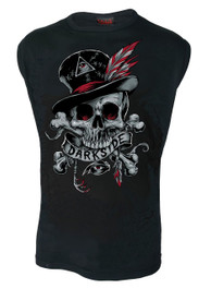 Voodoo Skull Mens Sleeveless Vest