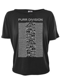 Purr Division Womens Open Back Top