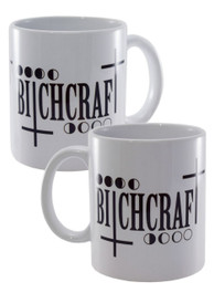 Bitchcraft White Mug