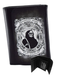 Smoking Grim Reaper Wallet