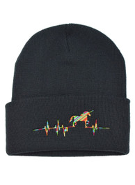 Unicorn Heartbeat Beanie Hat