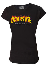 Darkside Flame Logo Womens T Shirt