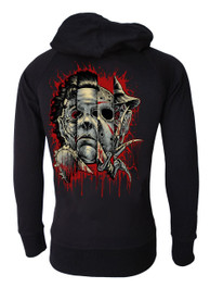 Faces Of Horror Cotton Zip Hood