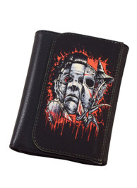 Faces Of Horror Wallet