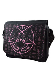 Kitten 666 Messenger Bag