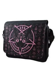 Kitten 666 Messenger Bag