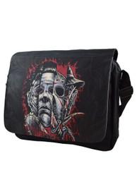 Faces Of Horror Messenger Bag