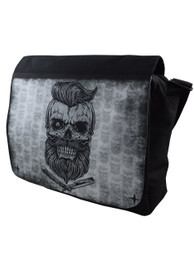 Bearded Skull Messenger Bag